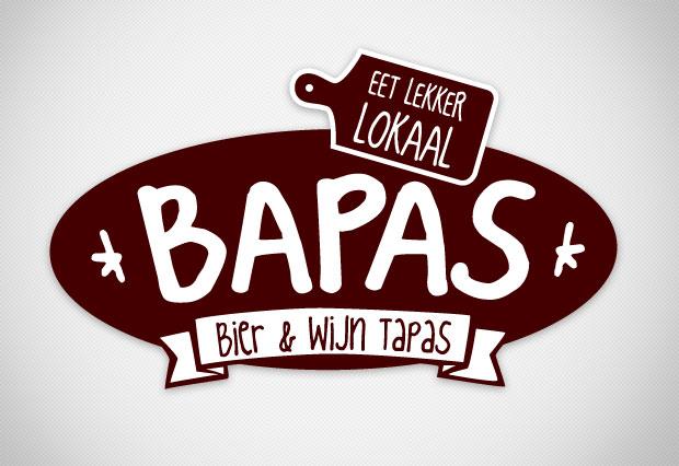 Bapas, bier en wijn tapas | Logo ontwerp